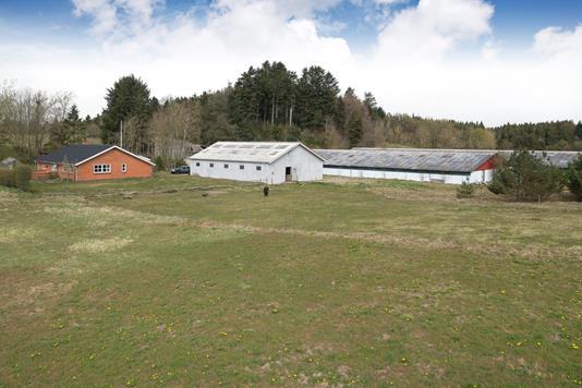 Landejendom på Klarupvej i Sindal - Ejendommen