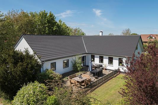Villa på Åsmarkvej i Tårs - Terrasse