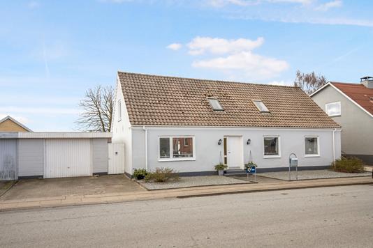 Villa på Astrupvej i Hjørring - Facade