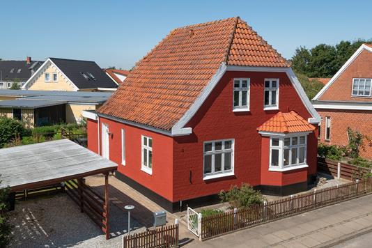 Villa på Liljevej i Østervrå - Ejendommen