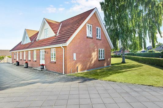 Villa på Ballesvej i Hornslet - Ejendommen