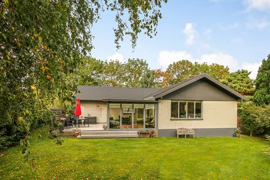 Villa på Alpedalen i Hornslet - Terrasse