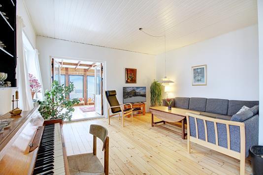 Villa på Kæragervej i Vanløse - Stue