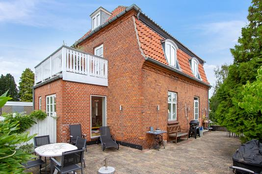 Villa på Tryggevældevej i Vanløse - Set fra haven