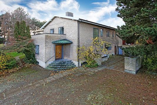Villa på Bernstorffsvej i Hellerup - Ejendommen