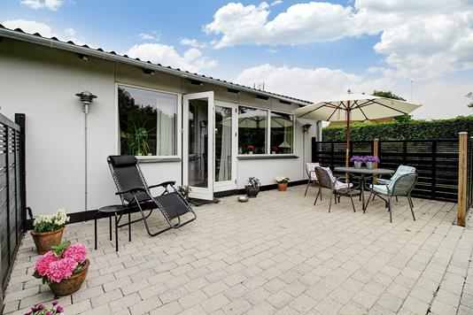 Villa på Farremosen i Allerød - Terrasse