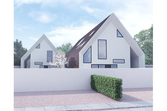 Villa på Frølichsvej i Charlottenlund - Facade