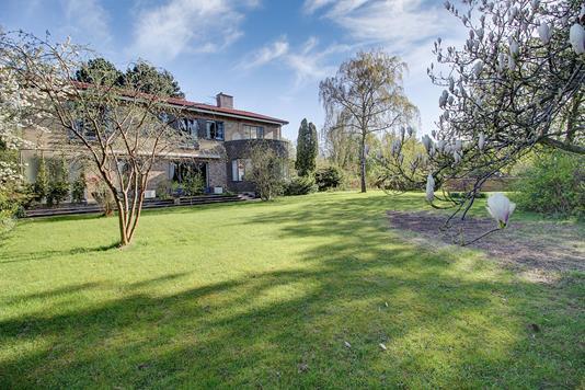 Villa på Bernstorffsvej i Hellerup - Have