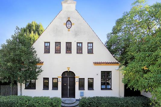 Villa på Strandagervej i Hellerup - Ejendommen