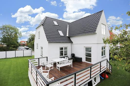 Villa på Ellegårdsvej i Gentofte - Terrasse