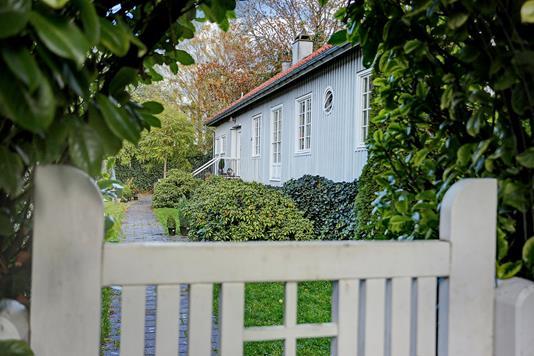 Villa på Lundegårdsvej i Hellerup - Ejendommen