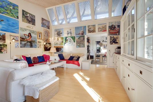 Villa på Kornskyldvej i København S - Stue