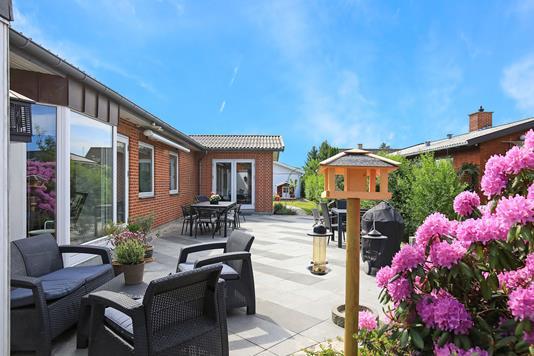 Villa på Vittrup Alle i Kastrup - Terrasse