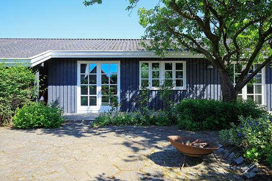 Villa på Lyngborgvej i Kastrup - Terrasse