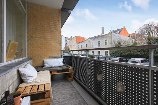 Ejerlejlighed på Carl Bernhards Vej i Frederiksberg C - Altan