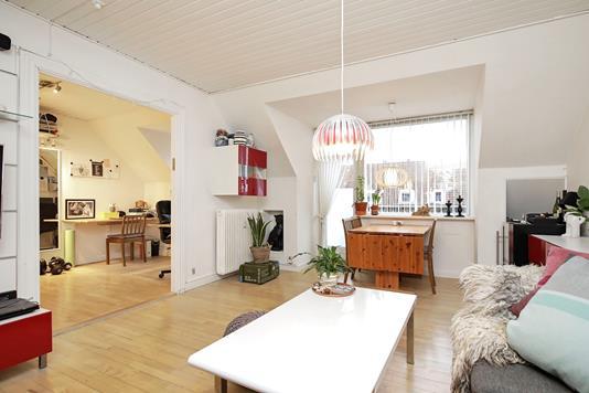 Ejerlejlighed på John Tranums Alle i Kastrup - Stue