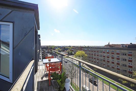 Ejerlejlighed på Dalføret i København S - Altan