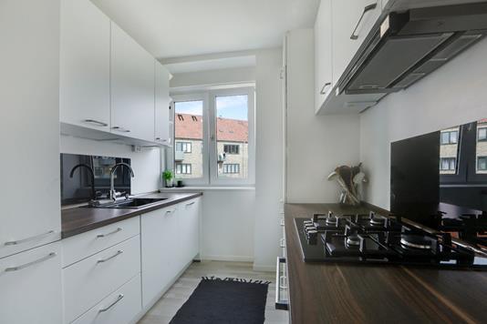 Ejerlejlighed på Ålandsgade i København S - Køkken