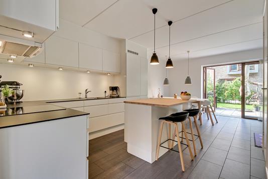 Villa på Tom Kristensens Vej i København S - Køkken