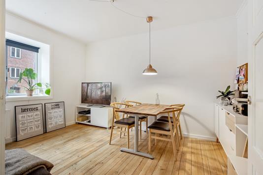 Ejerlejlighed på Caprivej i København S - Stue