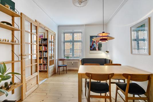 Ejerlejlighed på Ungarnsgade i København S - Spisekammer