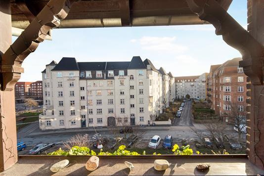 Ejerlejlighed på Svinget i København S - Udsigt