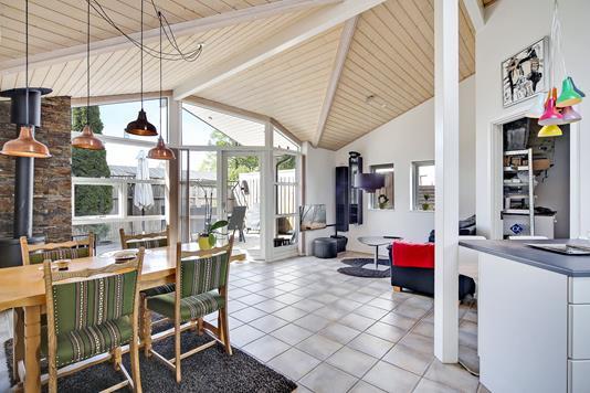 Villa på Hf. Engvang i København S - Køkken alrum