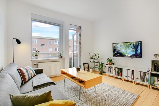 Ejerlejlighed på Reberbanegade i København S - Stue