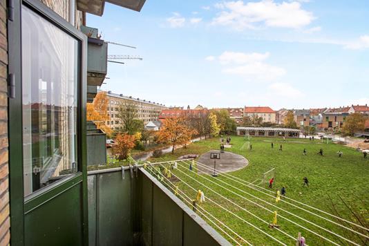 Ejerlejlighed på Frankrigshusene i København S - Udsigt