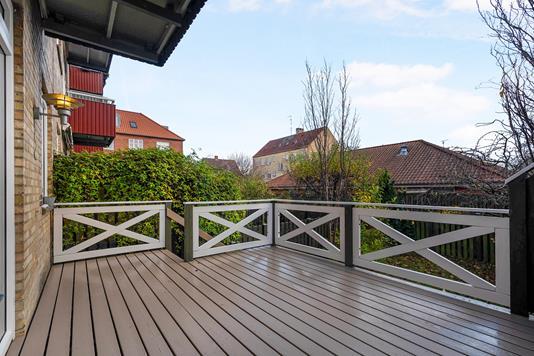 Ejerlejlighed på Korfuvej i København S - Terrasse