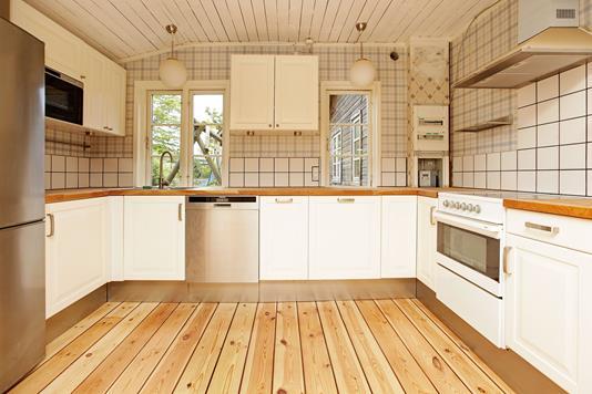 Villa på Slusevej i København S - Køkken