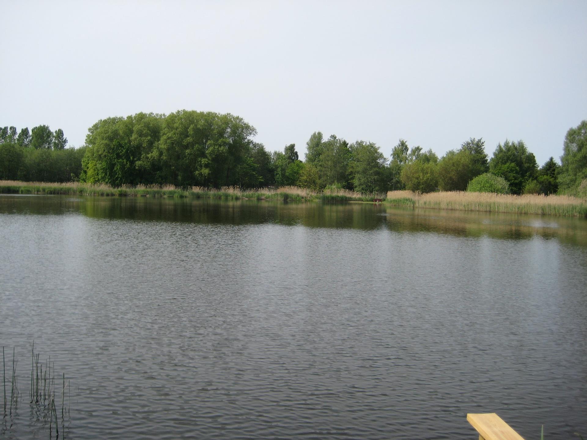 Fritidsgrund på Hejrevej i Jægerspris - Søudsigt