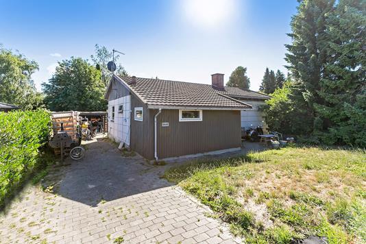 Villa på Hyldemorsvej i Herlev - Set fra vejen