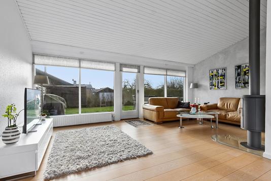 Villa på Dyvels Krat i Skovlunde - Stue