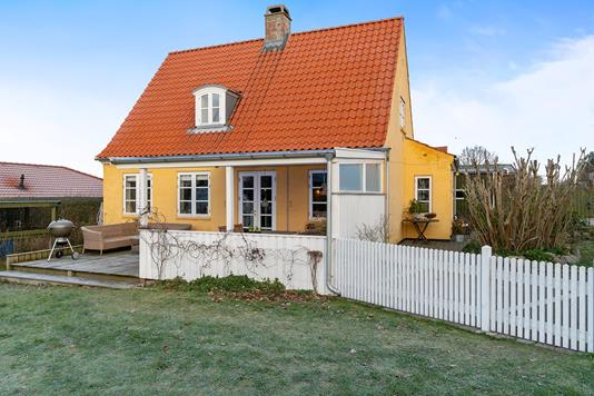 Villa på Kagsåvej i Søborg - Set fra haven
