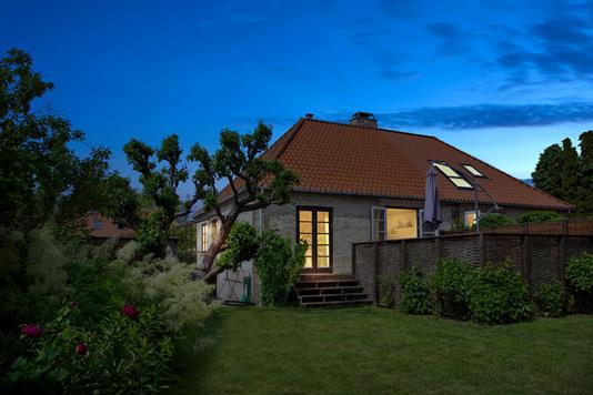 Villa på Kagsbro i Brønshøj - Set fra haven