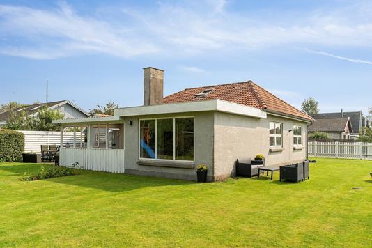 Villa på Græsvang i Skovlunde - Set fra haven