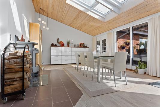 Villa på Hybenvænget i Skovlunde - Stue