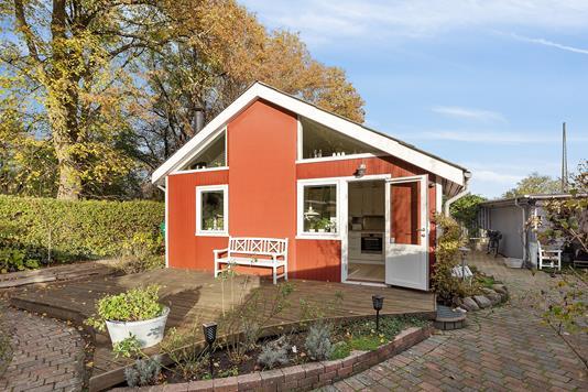 Villa på Rosenvang i Brønshøj - Terrasse