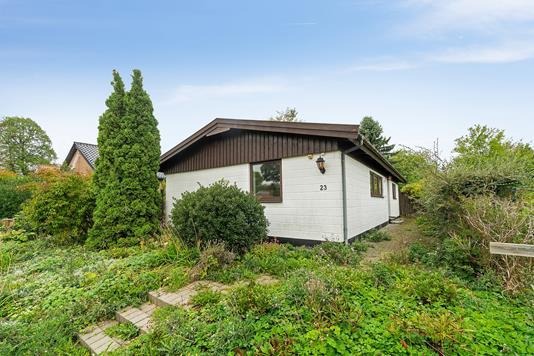 Villa på Vejringevej i Herlev - Set fra haven