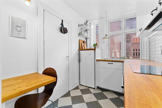 Ejerlejlighed på Asminderødgade i København N - Køkken