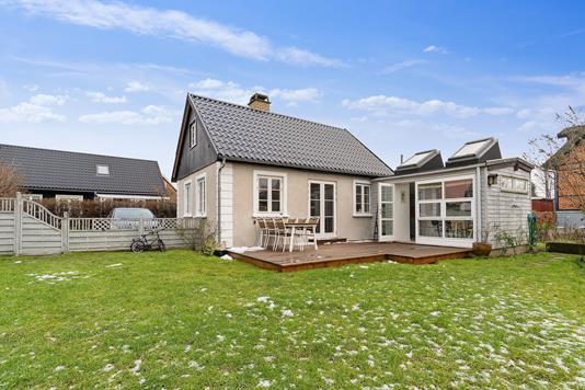 Villa på Birkevang i Brønshøj - Set fra haven