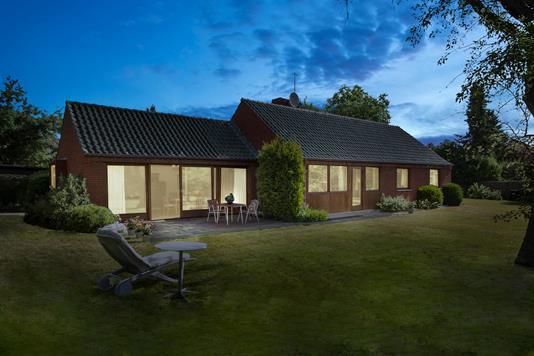 Villa på Møllebakken i Brønshøj - Set fra haven