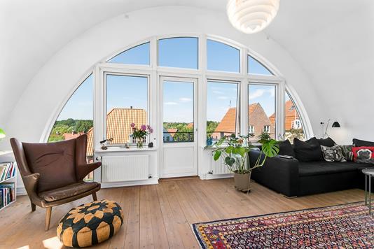 Villa på Højlandsvangen i Brønshøj - Stue