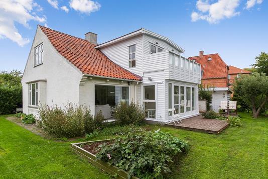 Villa på Gadstrupvej i Brønshøj - Set fra haven