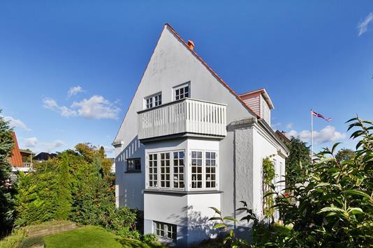 Villa på Rødhættevej i Herlev - Set fra haven