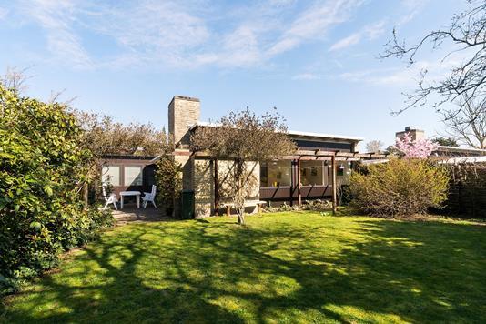 Villa på Sorgenfrivænget i Virum - Set fra haven