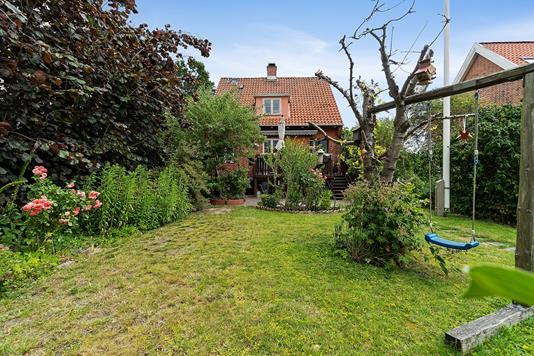 Villa på Engelholmvej i Brønshøj - Set fra haven