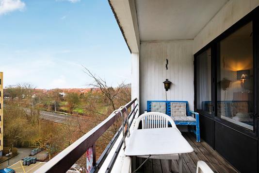 Ejerlejlighed på Vagtelvej i Frederiksberg - Altan