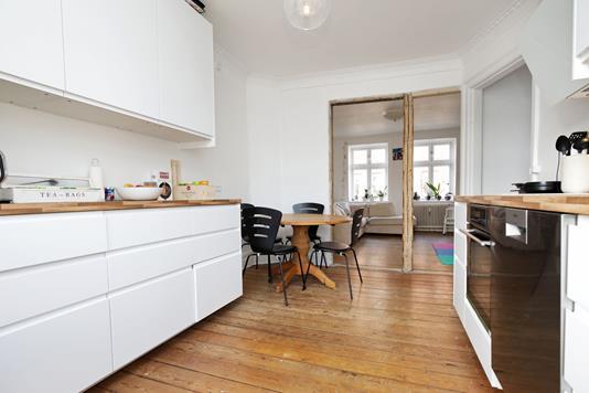 Ejerlejlighed på J.M.Thieles Vej i Frederiksberg C - Køkken